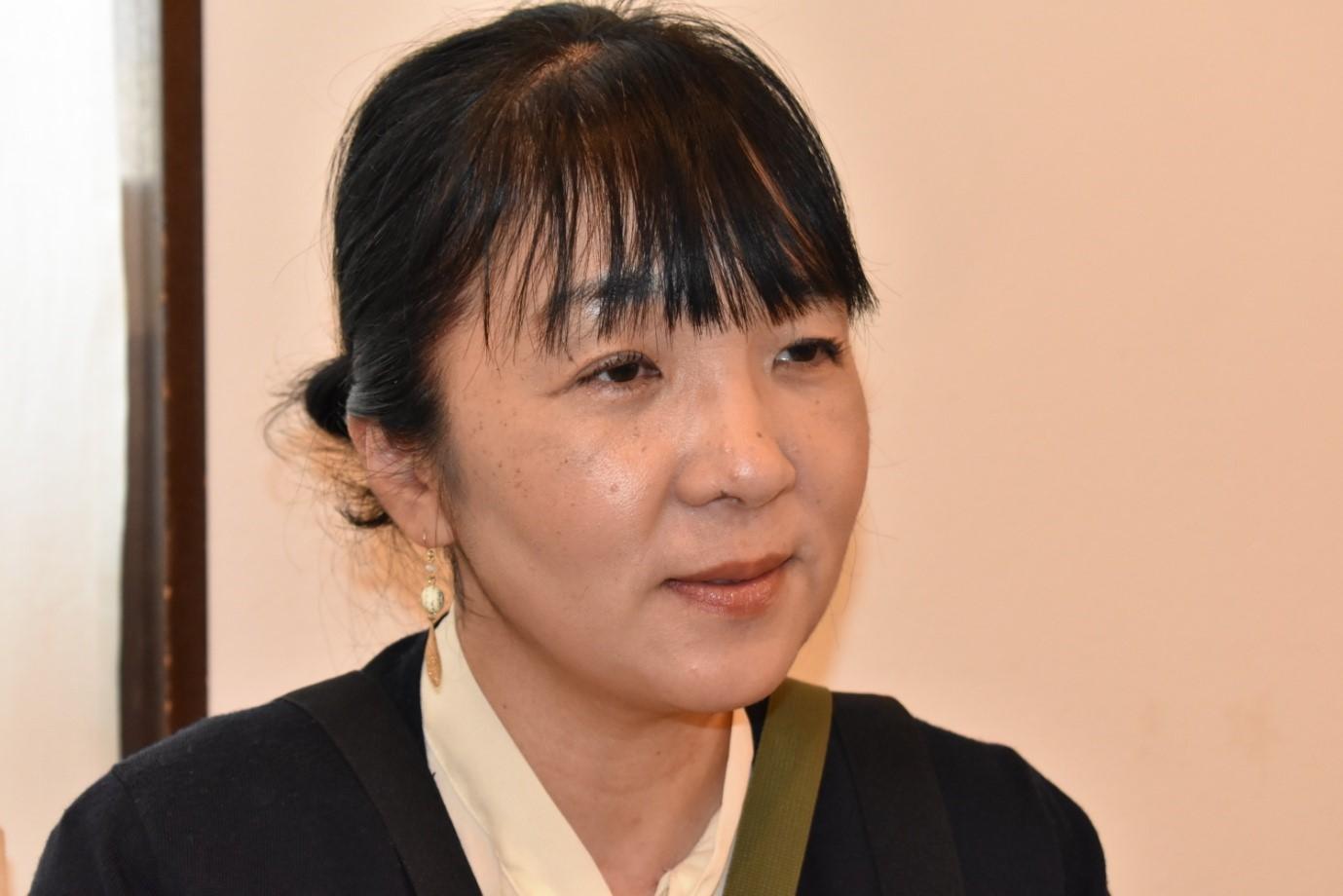 カフェおからさんを運営するNPO法人フラットハート理事長の青木美恵子さん