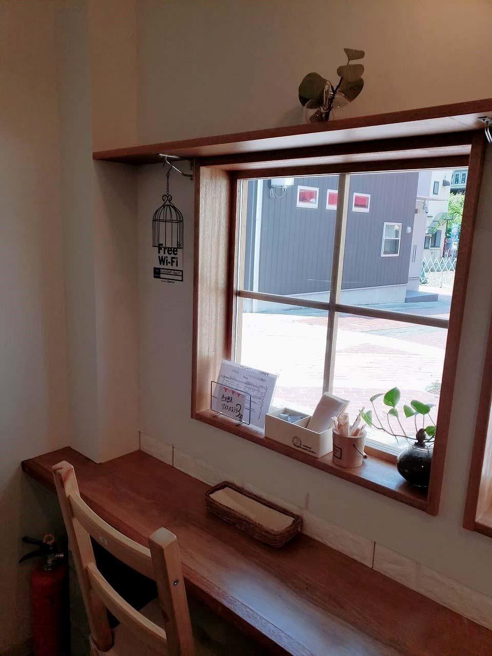 カフェおからさんから見える景色