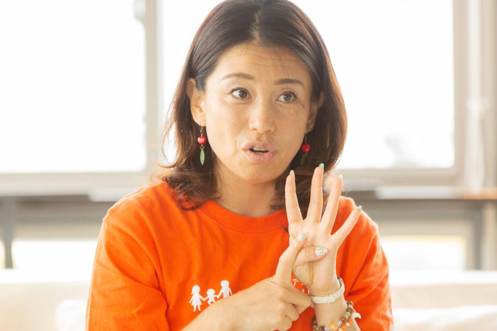 今後のビジョンについて語る甲田さん