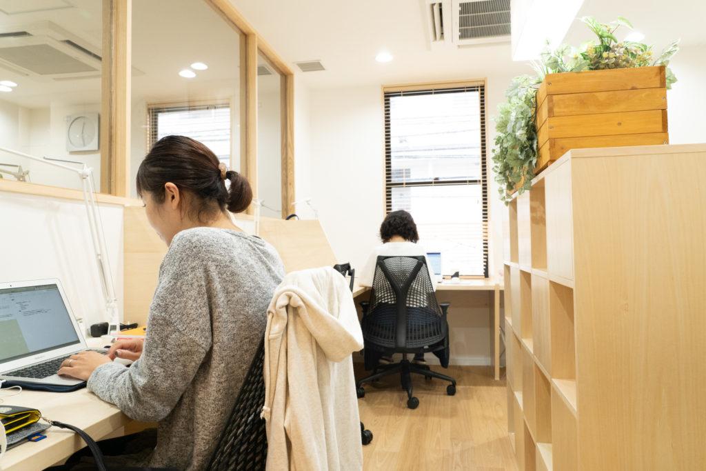 横濱元町のオフィススペースの様子