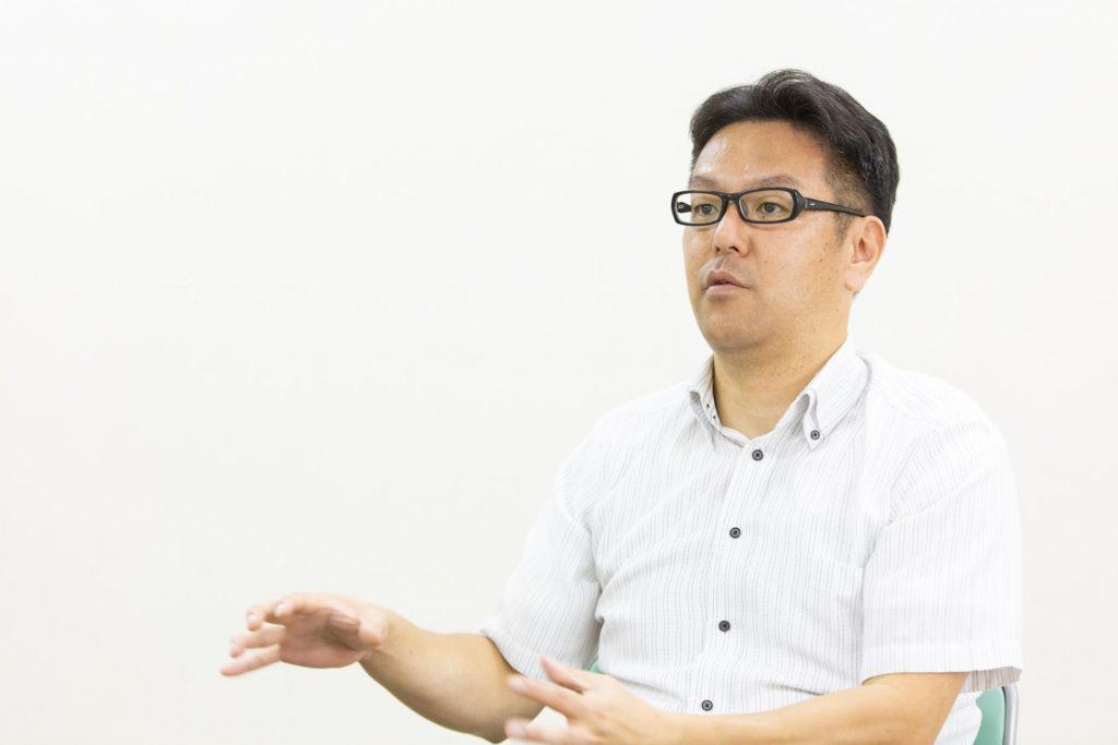 パルシステム商品管理本部 物流部物流管理課長の渡邉恭延さん