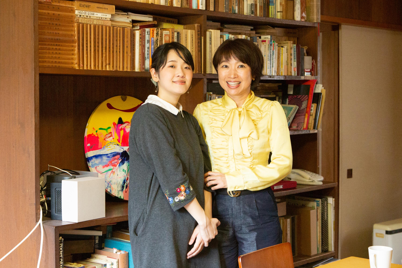 若いアーティストが才能をあきらめるなんて悲しい!「ART HOUSE クスクス」を運営する入澤日彩子さんと画家・瀬川祐美子さんのインタビューの画像