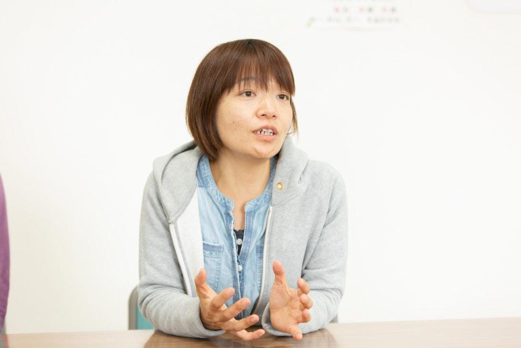 ジョイファーム小田原について語る大須さん