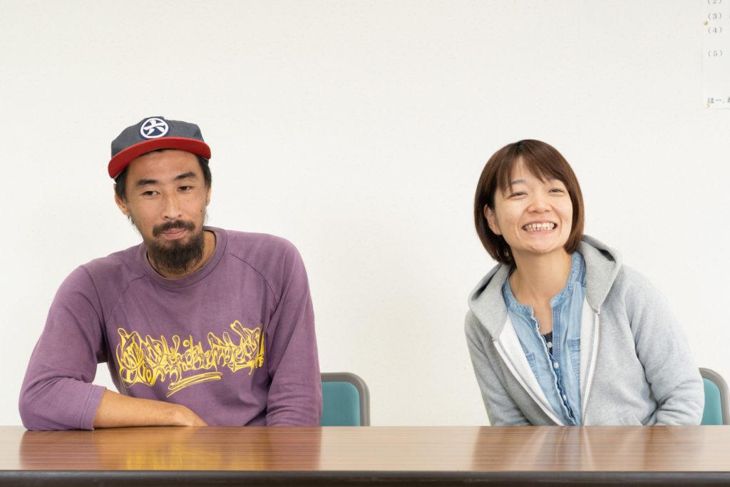 ジョイファーム小田原の安藤さんと大須さん