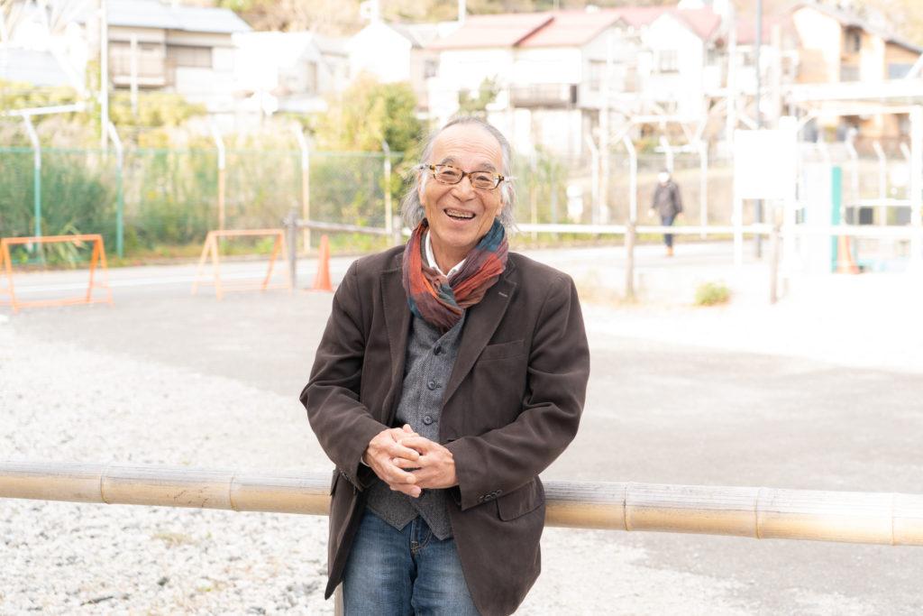 大磯町観光協会石井晴夫さん