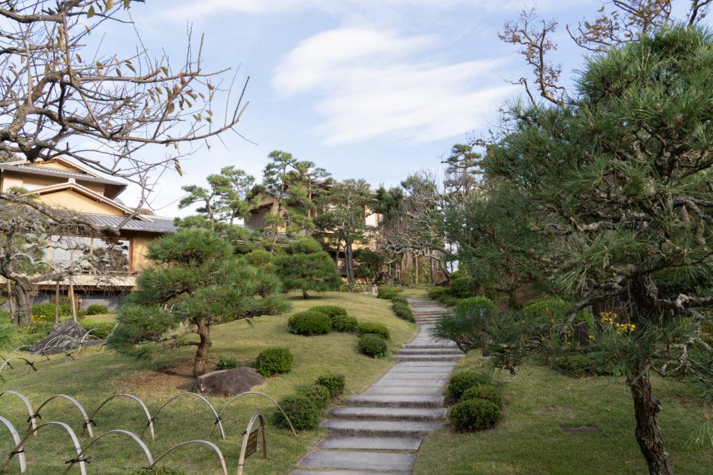 旧吉田茂邸の日本庭園