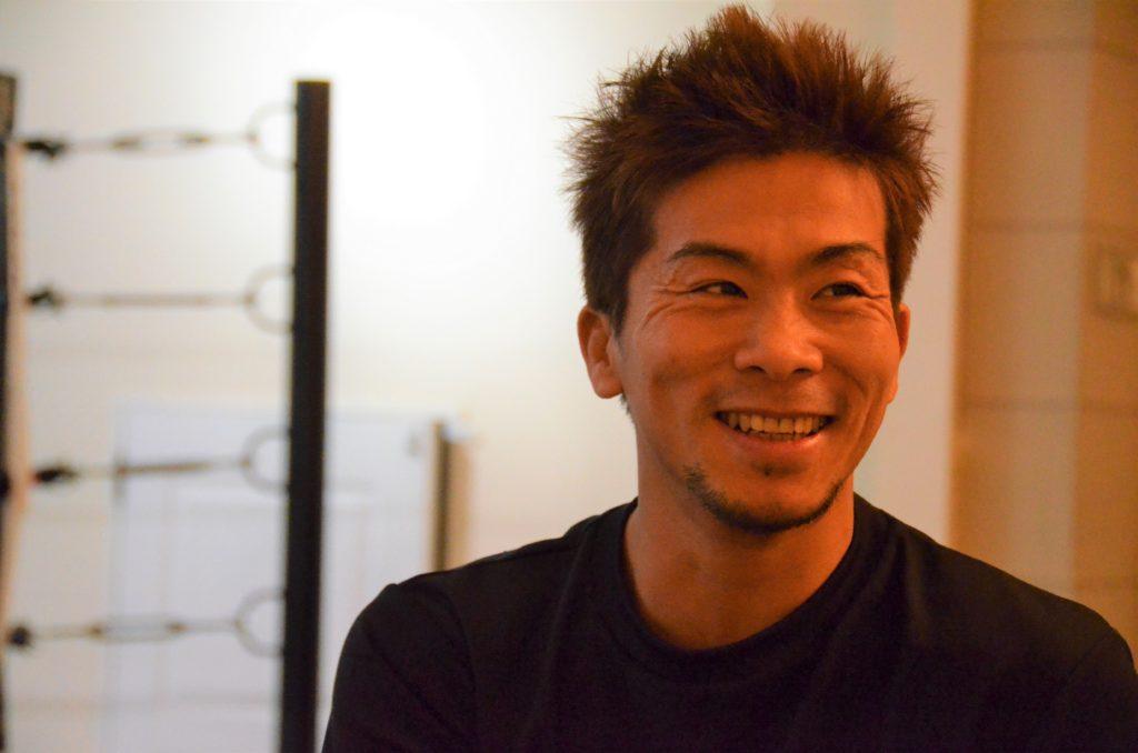 ボクシングと勝敗について語る田村さん