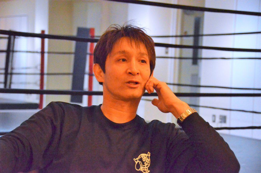 ジムのターゲット層について語る佐藤さん