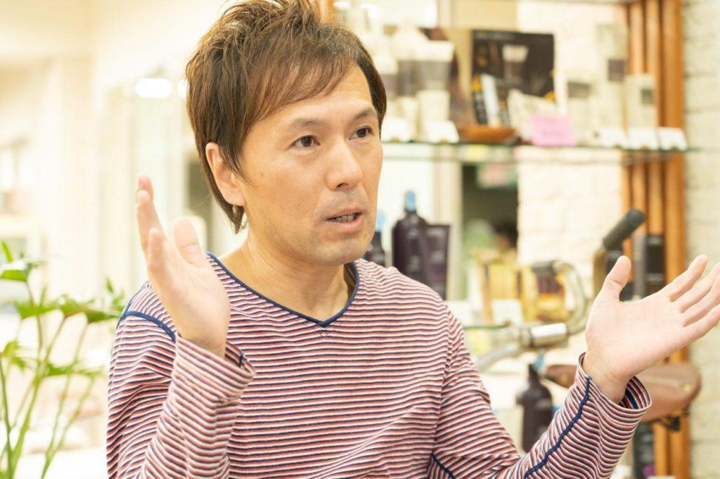 「FORMEage(フォルム・アージュ)」代表の松浪慎一さん