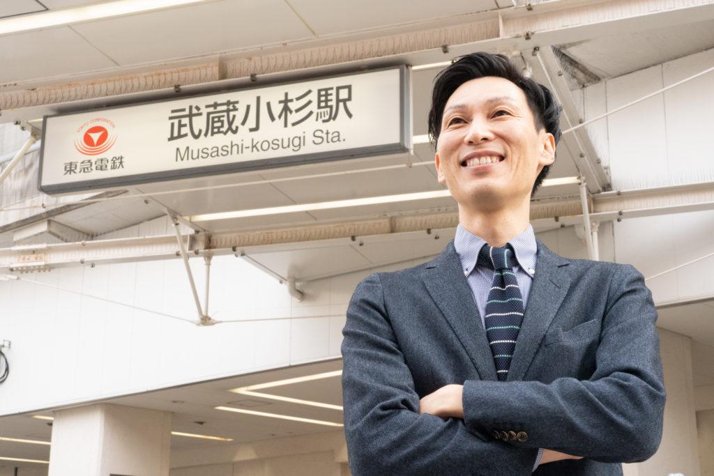 武蔵小杉を中心に活躍するワイガヤの鈴木啓功さん