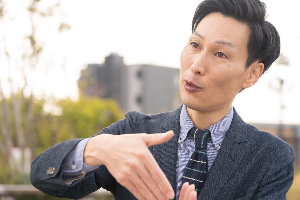ワイガヤの未来を語る鈴木さん