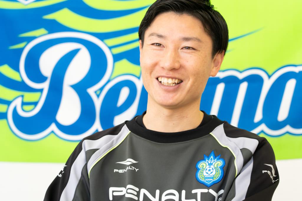 湘南ベルマーレのアカデミーについて語る西村さん