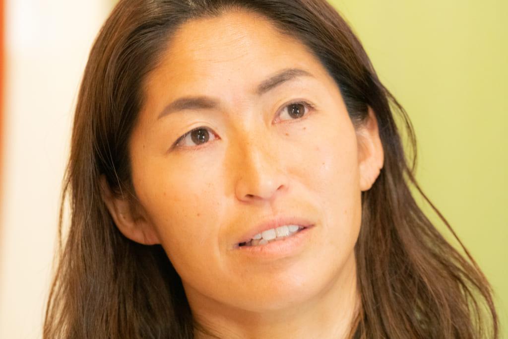 子育てについて話す吉田雅南子さん