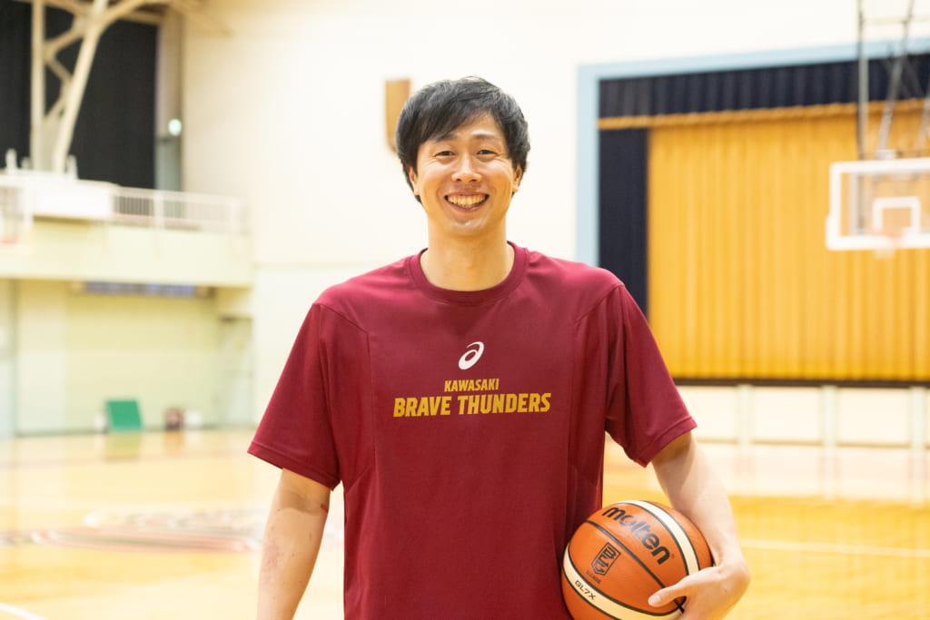 Bリーガーに突撃インタビュー!川崎ブレイブサンダース 長谷川技選手にいろいろ聞いてきました!の画像
