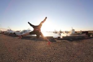 ブレイクダンスの様子2