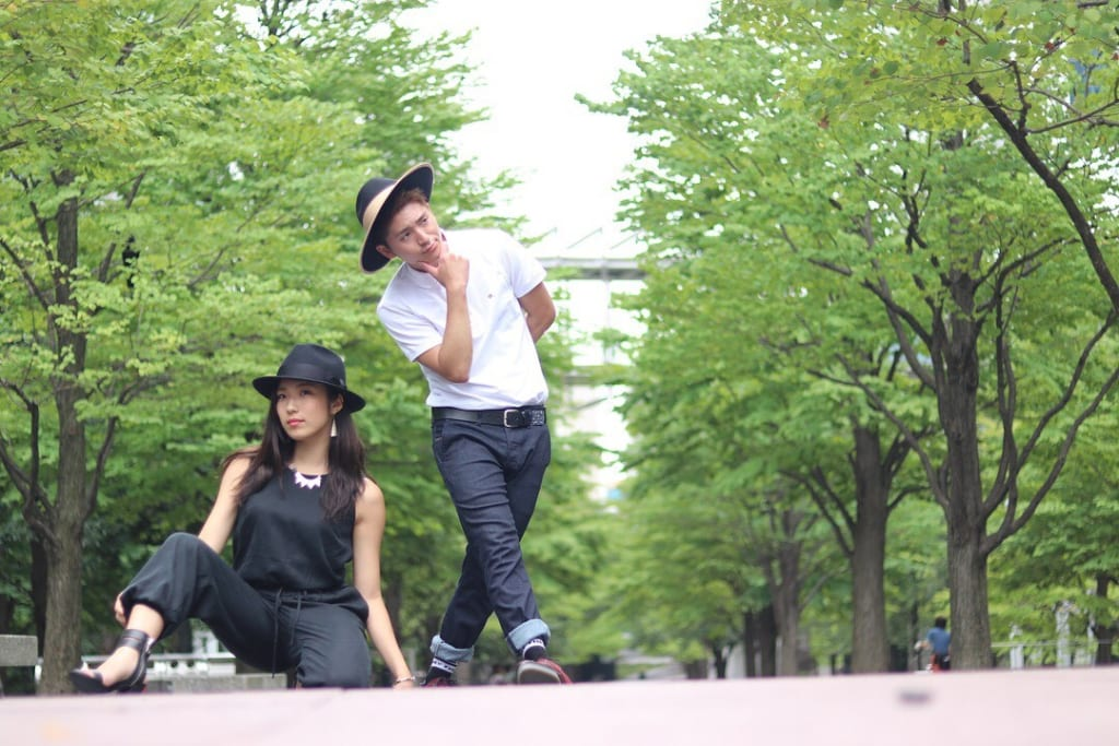 Revetyのパートナー・YUIさんとTAKARAさん