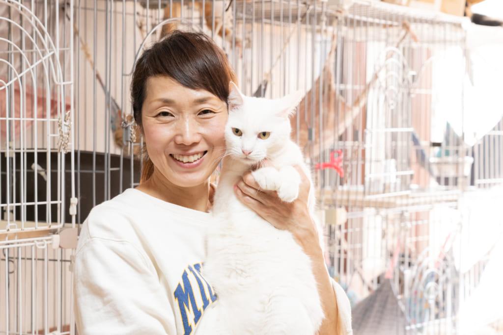 全国の犬猫を救いたい!おーあみ避難所 大網直子さんインタビューの画像