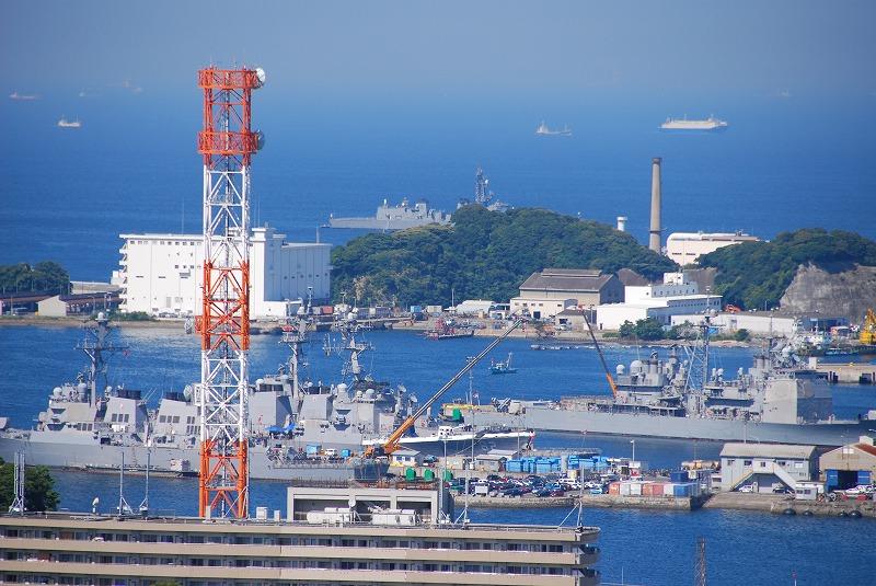 横須賀本港遠望