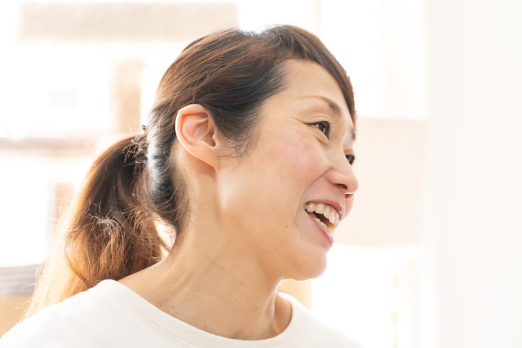 福島での活動の思い出を語る大網直子さん