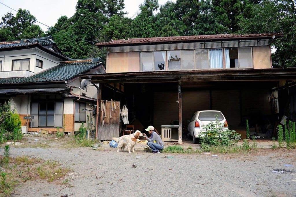 福島での救出活動の様子②