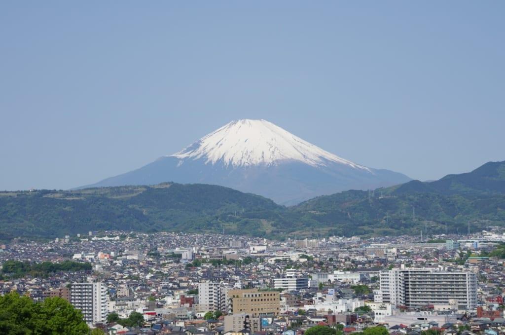 秦野から見た富士山