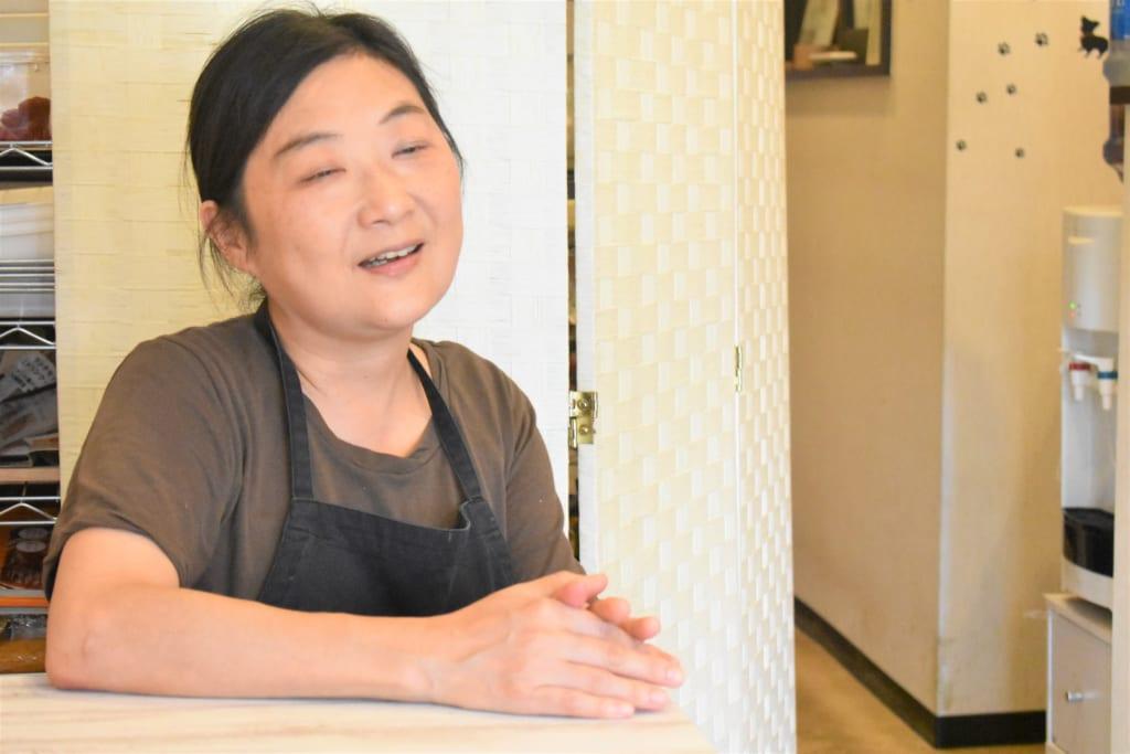 食を通して地域貢献活動を続けるcafeSanteオーナー河原みきさんインタビューの画像