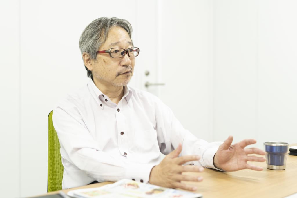ぱどの発展期のころを語る倉橋さん