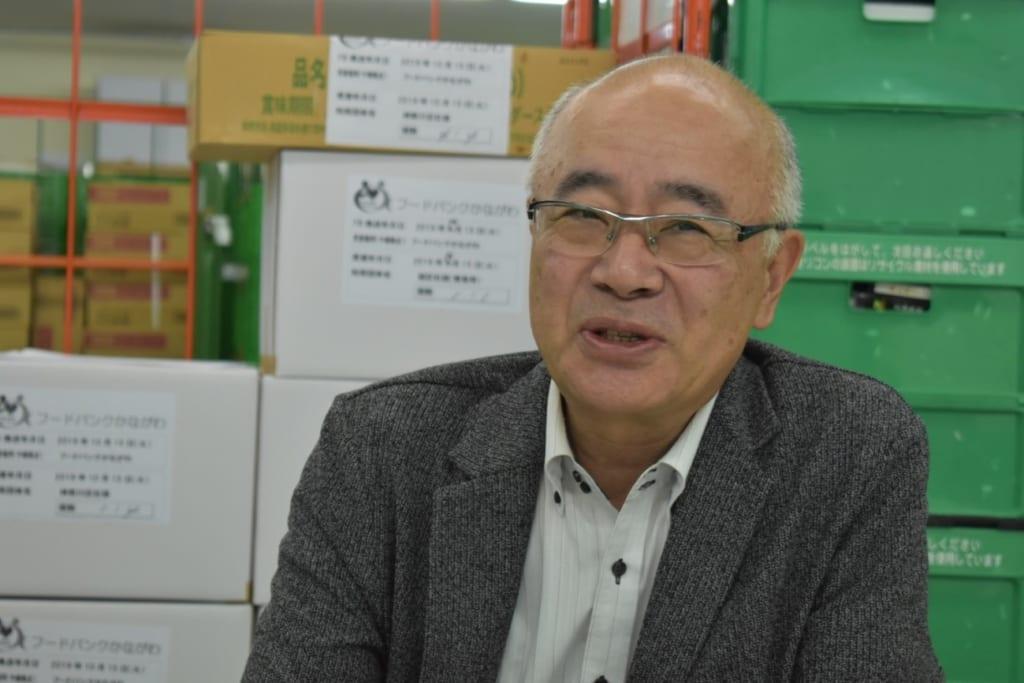 公益財団法人フードバンクかながわ事務局長藤田さん