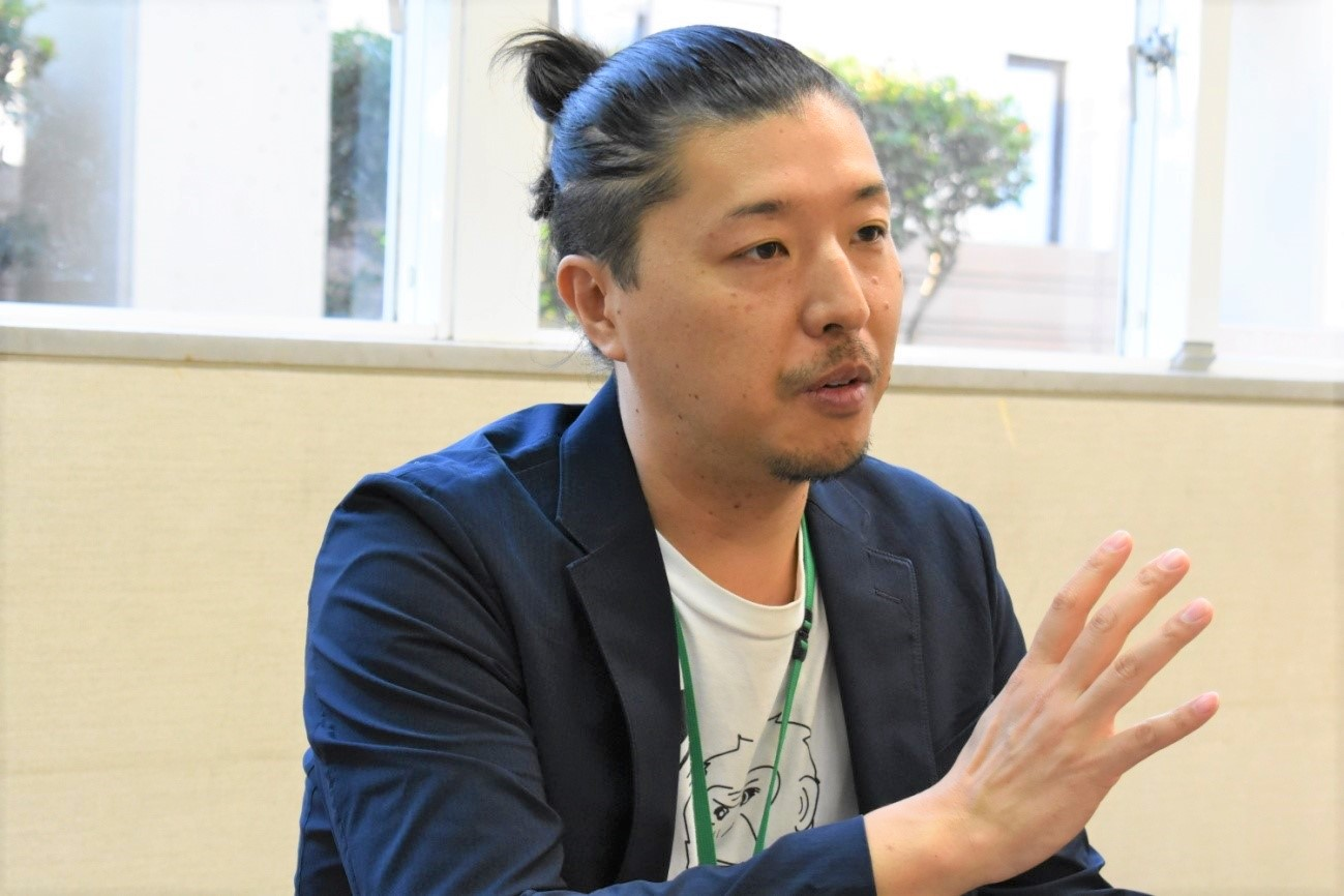 新たなチャレンジを語る須田さん
