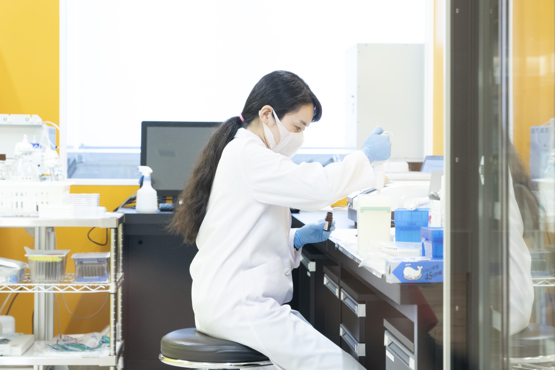 生化学検査室の様子