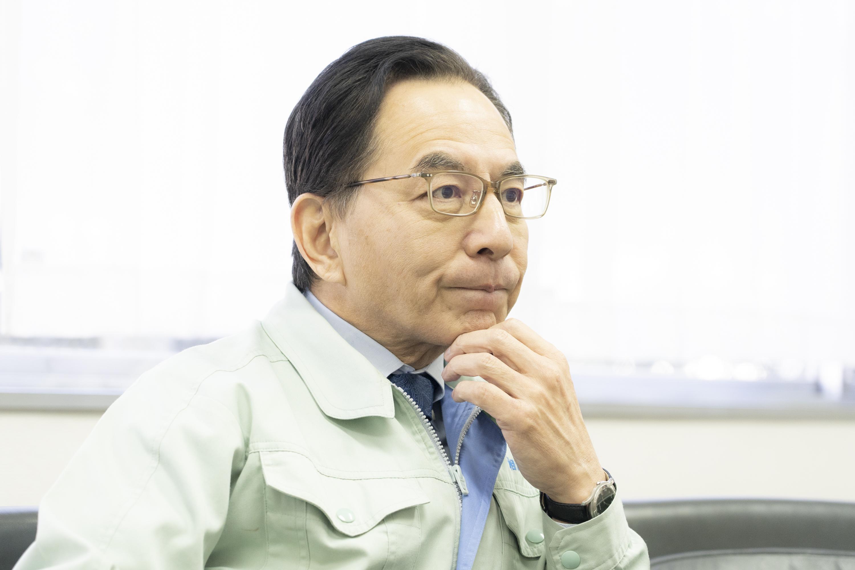 湘南モノレール社長の尾渡英生(おわたりひでお)さん