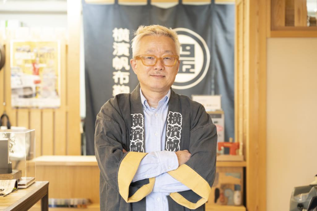 made in Nipponで横浜ブランドを創りたい!自称スーパークリエイターの横濱帆布鞄代表 鈴木幸生(すずきゆきお)さんインタビューの画像