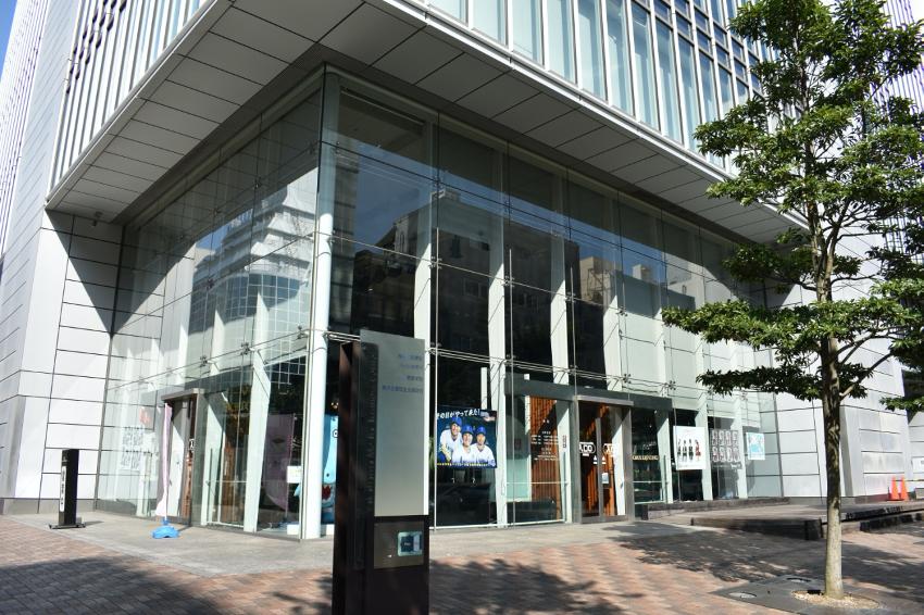 横浜市中区に本社を構えるtvk神奈川の外観