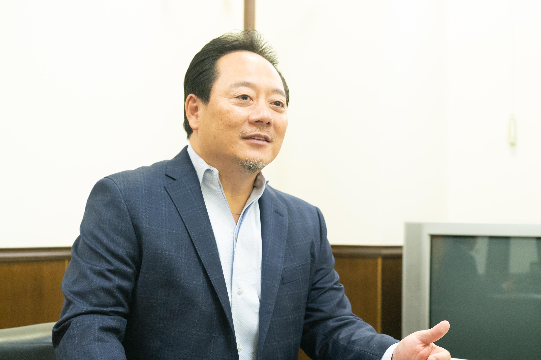 神奈川フューチャードリームス代表取締役の藤本伸也さん