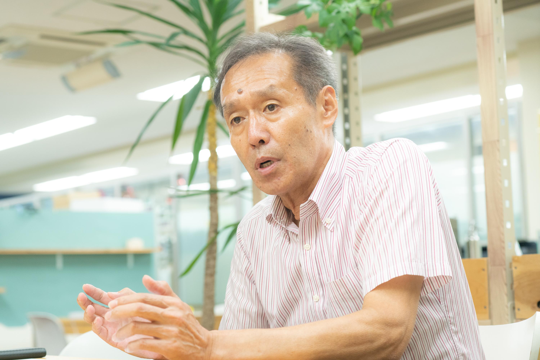 こどもホスピスの先には本場の小児緩和ケアと日本に広めていきたいと語る田川さん