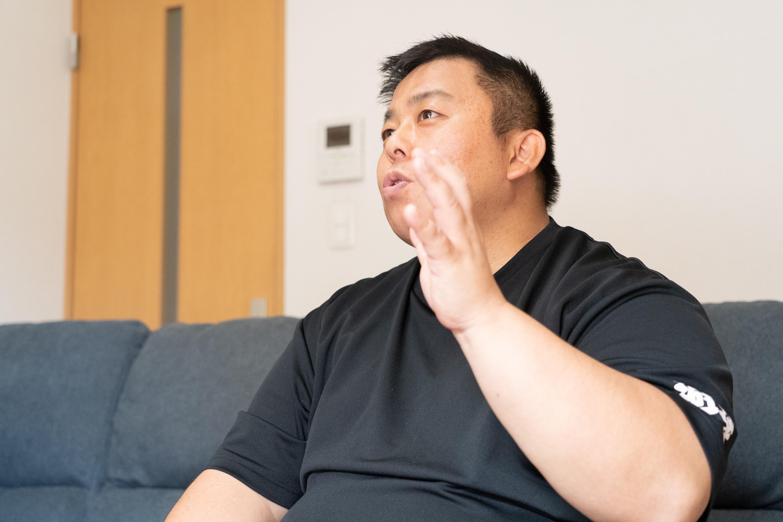 棚橋さんは15歳のころからドッジボールチームを指導してきた