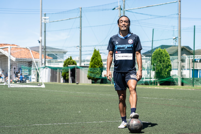 J3最年長ゴールを狙う安彦さん