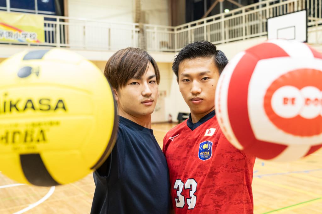 兄弟で日の丸を背負ってドッジボールを世界中に広めたい!選手兼コーチとして活動する小林兄弟、兄の大(だい)さん、弟の元(げん)さんインタビューの画像
