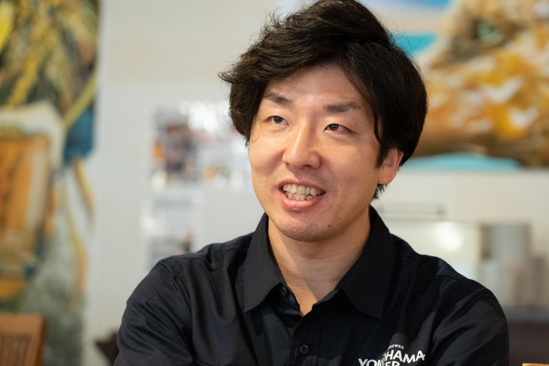 横浜ビールをいろいろな角度から知ってもらおうとさまざまな企画を考える横内さん