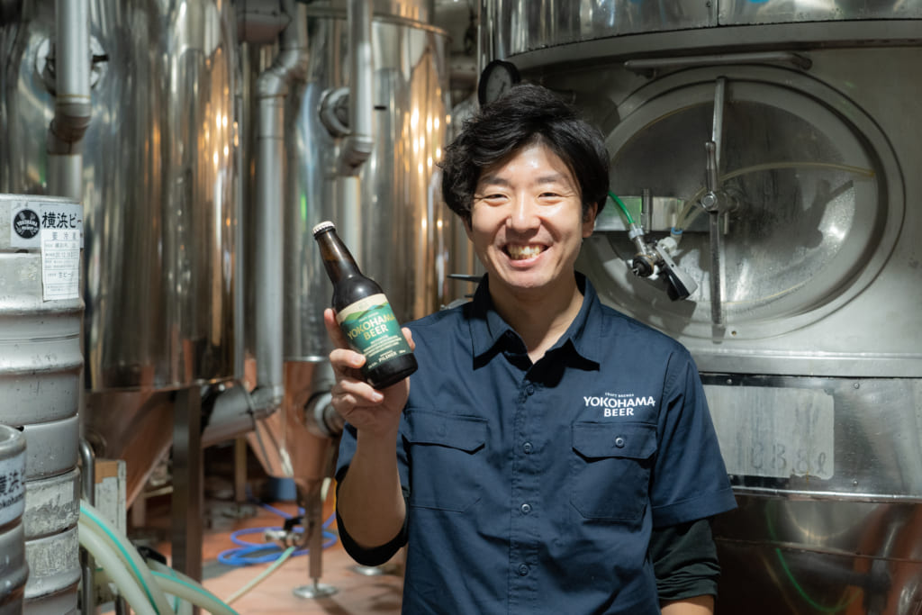 ビールで文化を繋ぎ横浜の街を盛り上げたい!「ビール×◯◯」を実践する株式会社横浜ビールの横内 勇人(よこうちはやと)さんインタビューの画像