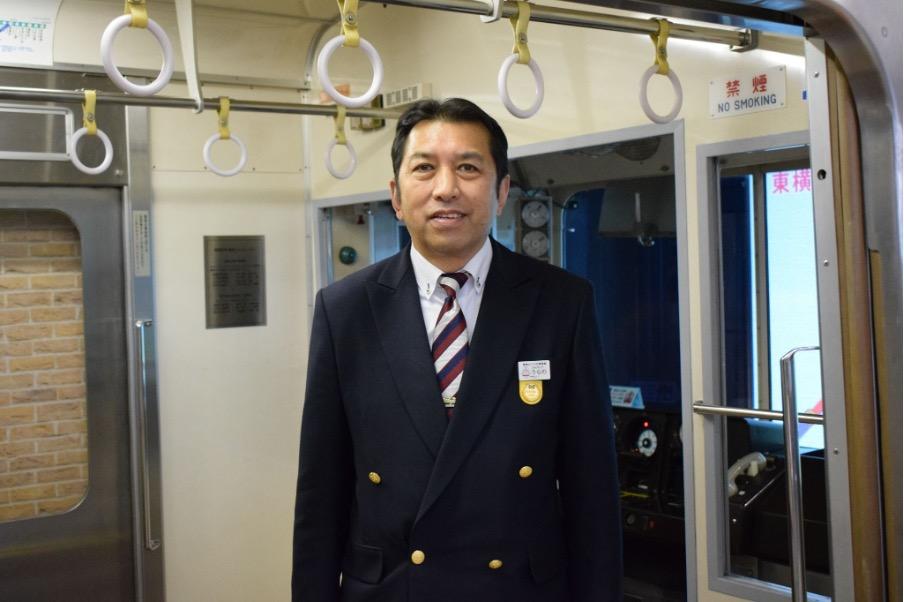電車とバスの博物館の浦野館長