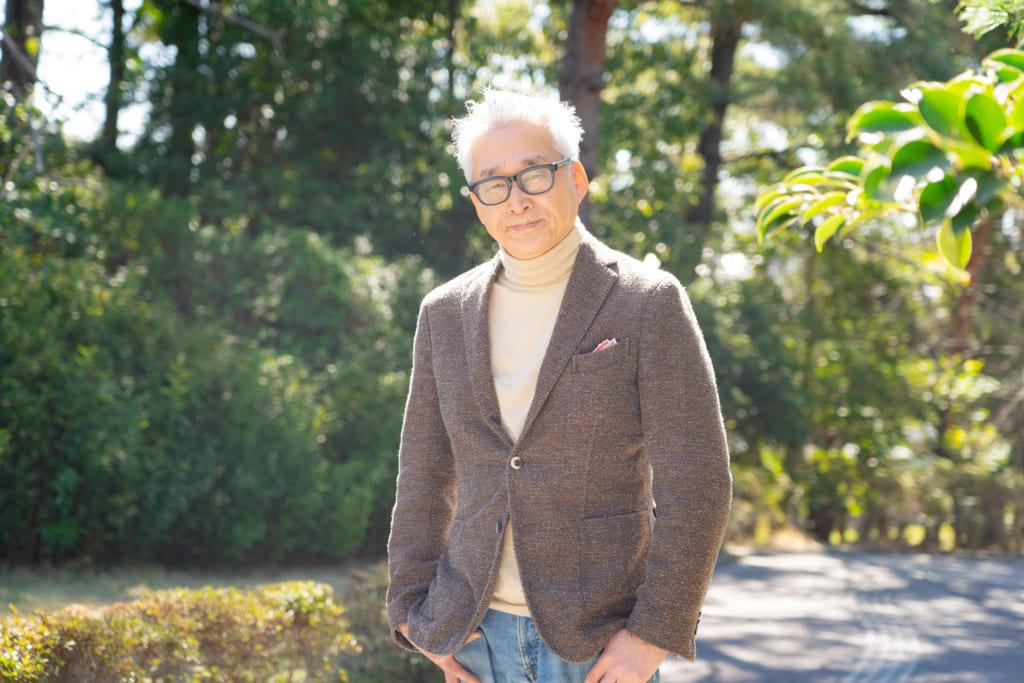 美術に触れながらこの土地の歴史や文化に触れる。高砂緑地の緑と融合する茅ヶ崎市美術館で館長を務める小川稔さんインタビューの画像